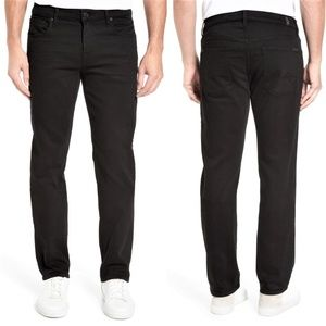 7 for all mankind Standard black straight jeans 29